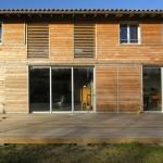 maison Lauret_Façade Sud_détail