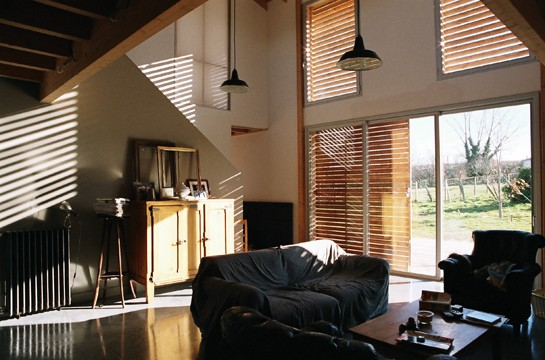 Maison Lauret - Séjour - jlBarreau - architecte