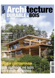 Design - Maisons bois en forme de boites