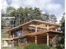 Design - Maisons bois en forme de boîtes