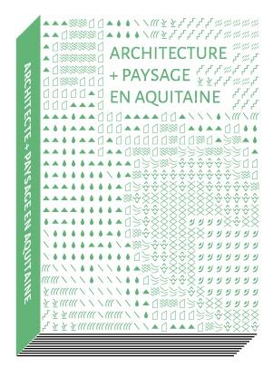 architecture + paysage en Aquitaine_livre_2014